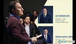 Ali Babacan'ın partisinin 'kurucular kurulu' listesi belli oldu