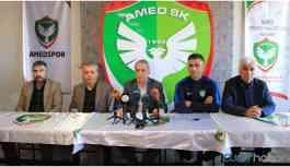 Amedspor Başkanı Kılavuz: 11 kişiye karşı oynamak istiyoruz, hakemler taraf olmasın
