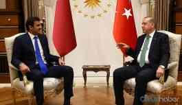 Cumhurbaşkanı Erdoğan, Katar Emiri es-Sani ile telefonda görüştü
