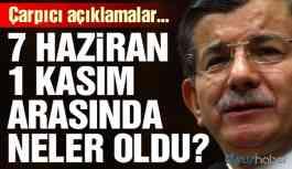 Davutoğlu: HDP'lilere ayaklarını denk almalarını söyledim
