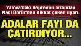 Deprem uzmanı olası Marmara depremine dikkat çekti: Fay çatırdıyor!