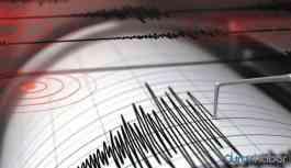 Elazığ'da 5,0 büyüklüğünde deprem