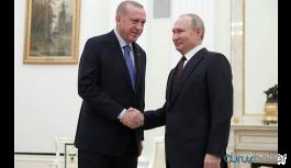 Erdoğan ile Putin görüşmesi sona erdi!