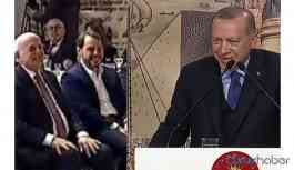 Erdoğan 'gülme' videosunu izlerken sinirlendi!