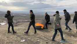 İlk Newroz ateşi yakıldı
