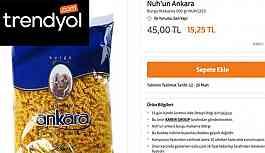 Online alışveriş sitesi Trendyol ve Nuh'un Ankara'dan 'fahiş fiyat' açıklamaları
