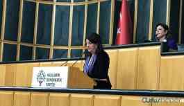 Pervin Buldan: AKP yargısı eliyle gerçekleştirilen hukuk dışı tutuklamaları kınıyoruz