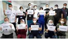 #SağlıkEmekçileriİçin1Dakika alkış kampanyası