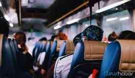Otobüs yolculuğu yasağını ihlal eden 46 kişiye ceza kesildi