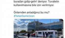 TGS: CNN Türk çalışanlarını birkaç metrekareye sıkıştırdı