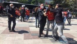 1 Mayıs eyleminde 11 kişi gözaltına alındı