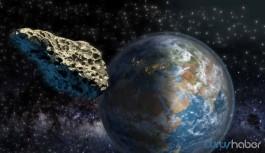 Dev asteroid bugün Dünya'nın yakınından geçecek