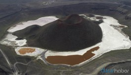 9 bin yıl önce oluşan Meke Gölü kurudu