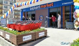 """""""Başkent Market"""" açıldı"""
