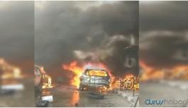Efrin'de şiddetli patlama: Çok sayıda ölü ve yaralı var