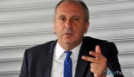 Muharrem İnce'den CHP'yi hedef alan Erdoğan'a tepki