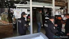 İstanbul'da sosyal mesafe uyarısında bulunan 2 market çalışanını yaralayan müşteri tutuklandı