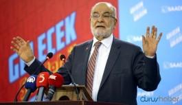 Saadet lideri Karamollaoğlu'ndan sağlıkçılara teşekkür