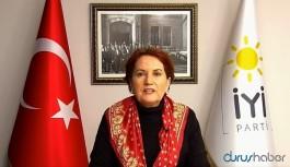 Meral Akşener: Türkiye'de beka değil, yöneticilerin zeka sorunu var