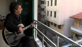 Metin Kahraman'dan balkon konseri