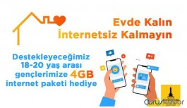Soyer'den gençlere 4 GB internet hediyesi