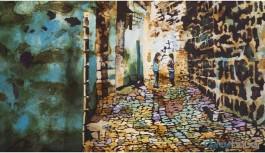 Ressam Altuntaş, Sur'un yok edilen belleğini çiziyor