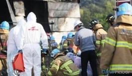Ülke şokta... İnşaatta yangın: En az 38 işçi hayatını kaybetti