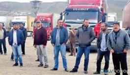 300 TIR şoförü İran'da mahsur kaldı