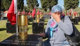 Maden katliamında hayatını kaybeden 301 madenci mezarları başında anıldı
