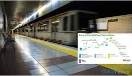 Ankara'ya yeni metronun ayrıntıları açıklandı
