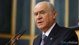 MHP lideri Bahçeli: Davutoğlu'nun partisinde PKK ile ilintili olanlar var