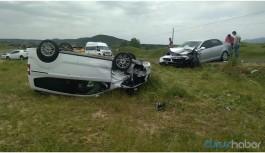 Bingöl'de trafik kazası: 2'si ağır 8 yaralı