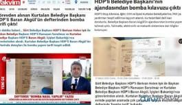 Eşbaşkana mal edilen 'bomba tarifi' notlar başkasının çıktı