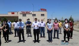 Cezaevi önünde açıklama: Tutukluların yaşam alanları daraltıldı