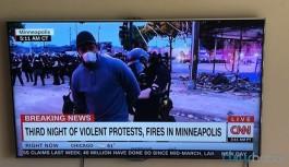 CNN muhabiri canlı yayında gözaltına alındı