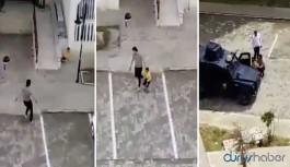 Çocukları silahla kovalayan polis Meclis gündeminde