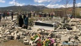 Mezarlıklara saldırıya Hakkari Barosundan tepki