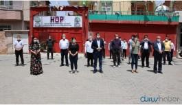 HDP binasının kundaklamasına tepki