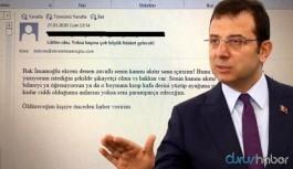 İBB Başkanı İmamoğlu'nu tehdit eden kişi hakkında yeni gelişme