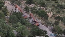 Kalekol inşaatına roketli saldırı