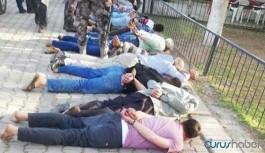 Karakol bahçesinde işkence yapan polisler hakkında soruşturma başlatıldı