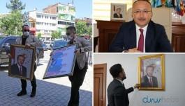 Kayyım, Soylu ve Erdoğan'la 'göreve' başladı