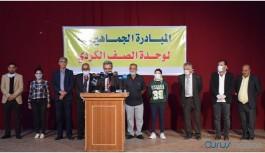 'Kürtlerin birliği için ulusal inisiyatif' ilan edildi