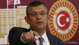 CHP'li Özel: Erdoğan diyecek ki 'PKK, Vefa'ya saldırdı sonra da CHP saldırdı, bunlar aynı'