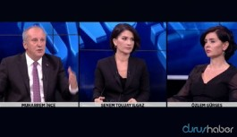 Saray'dan Muharrem İnce'nin Haber Global canlı yayınını terk etmesi hakkında açıklama