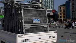 Sokağa çıkma yasağı varken Gezi Parkı'nı bariyerlerle kapattılar