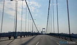 Sokağa çıkma yasağının olduğu bayram boyunca köprü ve otoyollar ücretsiz