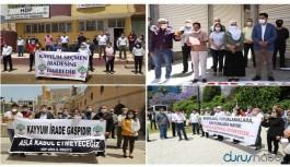 Birçok kentte kayyım protestoları