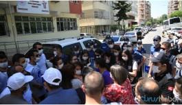 Sürgün protestosuna müdahale: 8 kişi darp edilerek gözaltına alındı