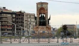Taksim'de 1 Mayıs ablukası
